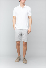 Load image into Gallery viewer, Organic Cotton Beach Polo - White
