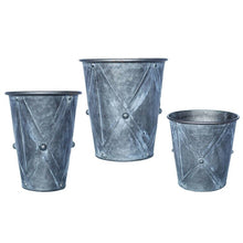 Load image into Gallery viewer, Zinc Drum Planter-Medium (1 planter)