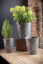 Load image into Gallery viewer, Zinc Drum Planters-Large (1 planter)