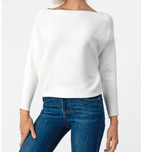 Load image into Gallery viewer, Solid Stripe Dolmain Sweater