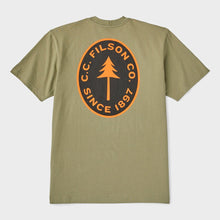 Load image into Gallery viewer, Filson S/S Outfitter Graphic T-shirt - Burnt Olive