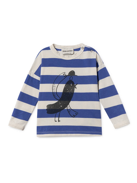 Bird Round Neck T-shirt - baby  - 12/18 mo