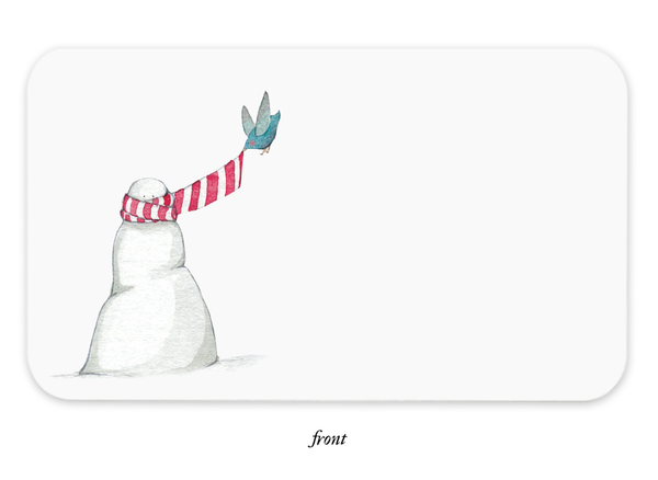 Snowman Little Notes