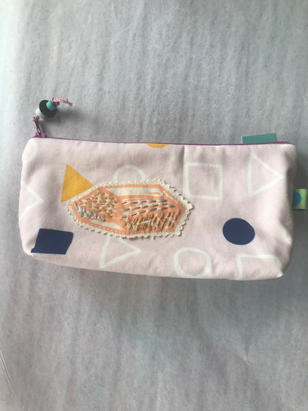 Geometric Gusseted Pouch