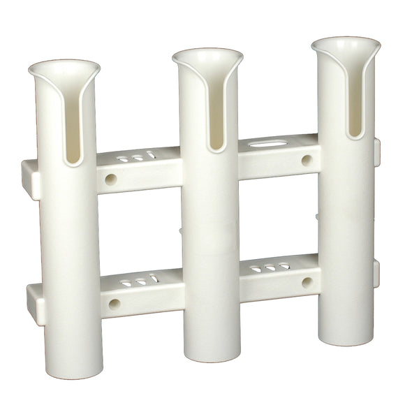 C.E. Smith Tournament 3 Rod Rack - White