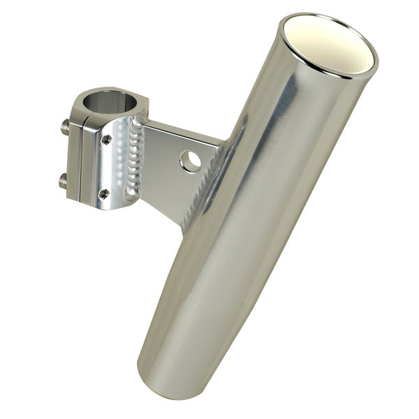 "C.E. Smith Aluminum Clamp-On Rod Holder - Vertical - 1.66"" OD - Fits 1-1/4"" Pipe"