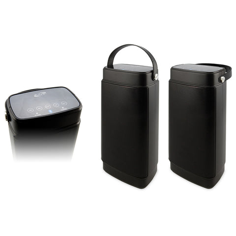 iLive ISBW2116B Dual Portable Wireless Speakers - Pair