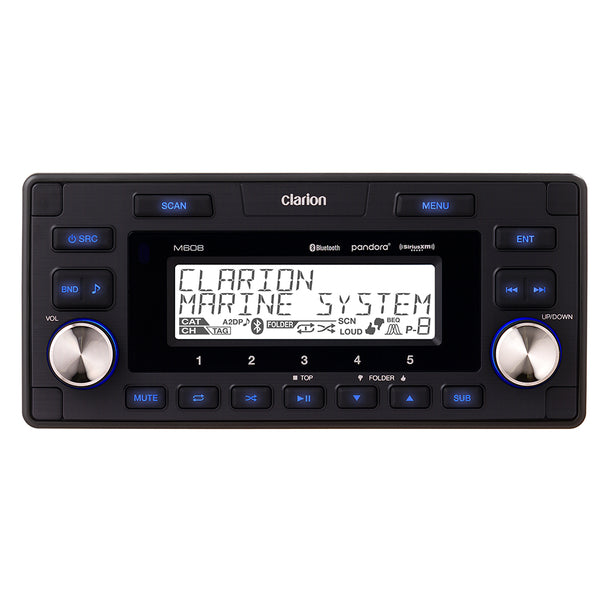 Clarion Marine Bluetooth Watertight 4-Zone Digital Media Receiver