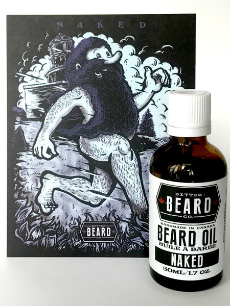 Naked Beard Oil (Unscented)