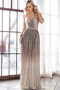 Champagne Ombre Gown