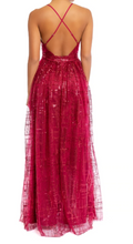 Load image into Gallery viewer, Cherry Glimmer Gown
