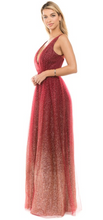 Load image into Gallery viewer, Red Ombre Gown