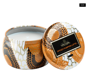Spiced Pumpkin Latte Mini Tin Candle