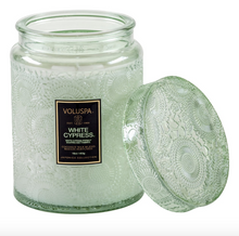Load image into Gallery viewer, White Cypress Large Jar Candle