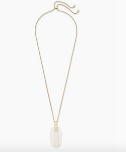 Kendra Scott Inez Necklace in Mother of Pearl