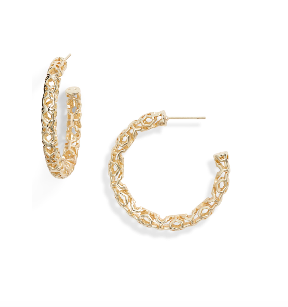 Kendra Scott Maggie Medium Hoop *multiple colors available