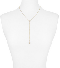 Load image into Gallery viewer, Kendra Scott Claudia Necklace in Gold Iridescent Drusy