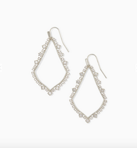 Kendra Scott Soffee Crystal Drop Earring *multiple colors available