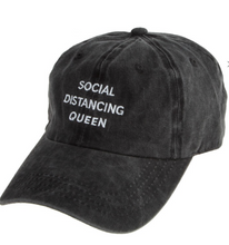 Load image into Gallery viewer, Social Distancing Queen Baseball Hat