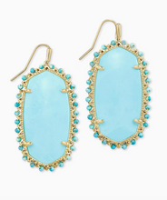 Load image into Gallery viewer, Beaded Danielle Statement Earrings