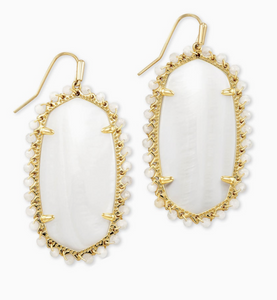 Beaded Danielle Statement Earrings