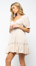 Load image into Gallery viewer, Cream Midi Dress