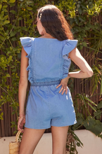 Load image into Gallery viewer, Chambray Romper
