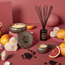 Load image into Gallery viewer, Pink Citron Grapefruit 3 Wick Tin Candle