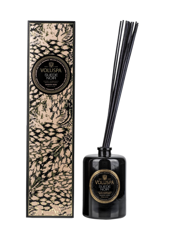 Suede Noir Reed Diffuser