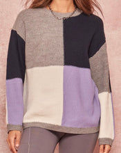 Load image into Gallery viewer, Callie Block Sweater