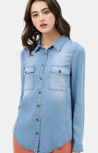 Basic Denim Top