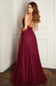Sangria Gown