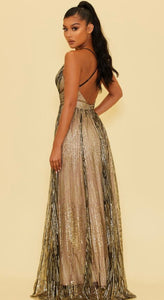 Mirror Ball Gown