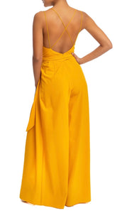 Yellow Strappy Jumpsuit