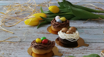 EASTER NEST DONUTS