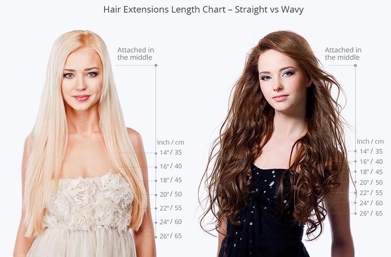 #33 | Clip-in Extensions - tape in clip in hair extensions اکستنشن طبیعی شعر طبيعي