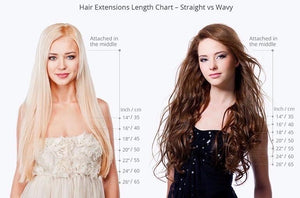 #20 | Clip-in Extensions - tape in clip in hair extensions اکستنشن طبیعی شعر طبيعي