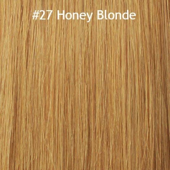 Ponytail Extension (Honey Blonde #27) - tape in clip in hair extensions اکستنشن طبیعی شعر طبيعي