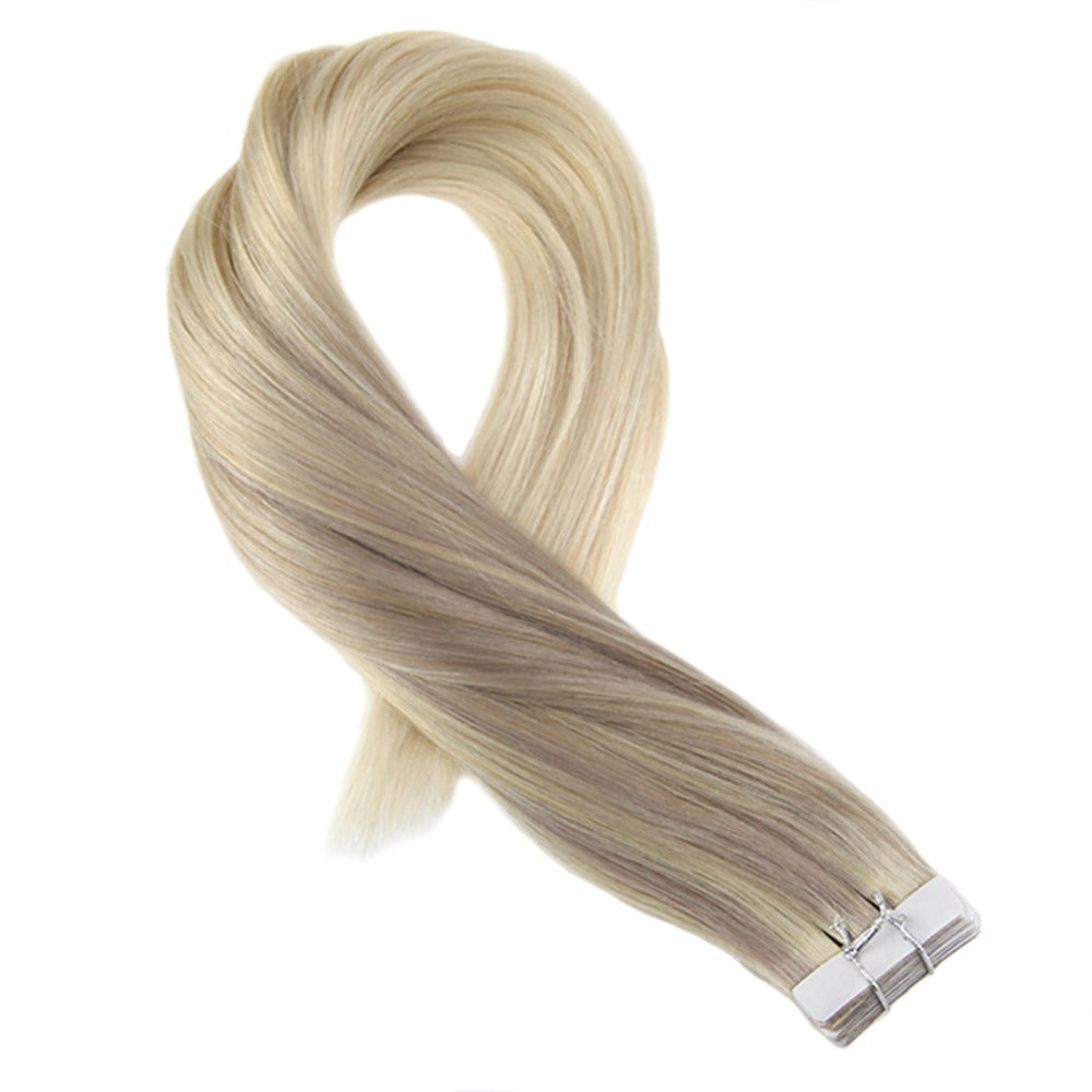 Luxury Virgin Tape-in Extensions - Balayage (18/22/60) - tape in clip in hair extensions اکستنشن طبیعی شعر طبيعي