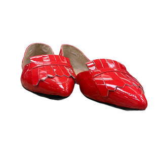 Primary Photo - BRAND: BANANA REPUBLIC STYLE: SHOES FLATS COLOR: RED SIZE: 8 SKU: 207-207288-1893