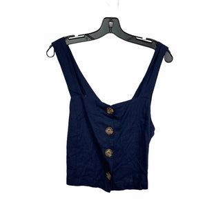 Primary Photo - BRAND: ANTHROPOLOGIE STYLE: TOP SLEEVELESS COLOR: NAVY SIZE: L SKU: 207-207256-4796