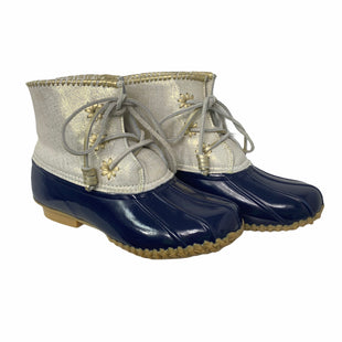 Primary Photo - BRAND: JACK ROGERS STYLE: BOOTS DESIGNER COLOR: NAVY SIZE: 8 OTHER INFO: AS IS- W/ BOX SKU: 207-207223-22581