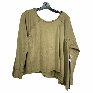 Primary Photo - BRAND: WE THE FREE STYLE: TOP LONG SLEEVE COLOR: GREEN SIZE: S SKU: 207-207288-2445