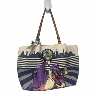Primary Photo - BRAND: DOONEY AND BOURKE STYLE: HANDBAG DESIGNER COLOR: WHITE SIZE: LARGE OTHER INFO: AS IS MODEL NUMBER: FIGMAN FOOD AND WINE SKU: 207-207299-1696