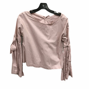 Primary Photo - BRAND: FREE PEOPLE STYLE: TOP LONG SLEEVE COLOR: LIGHT PINK SIZE: XS SKU: 207-207278-4958