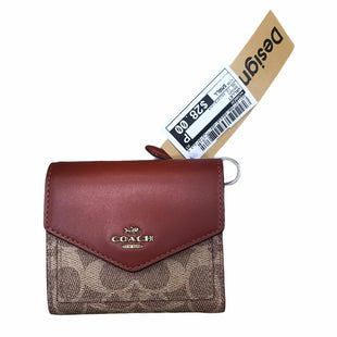 Primary Photo - BRAND: COACH STYLE: WALLET COLOR: BROWN SIZE: SMALL OTHER INFO: AS IS MODEL NUMBER: COLORBLOCK SKU: 207-207288-4864