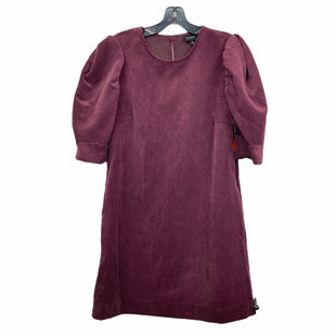 Primary Photo - BRAND: WHO WHAT WEAR STYLE: DRESS SHORT SHORT SLEEVE COLOR: PLUM SIZE: S SKU: 207-207139-55597