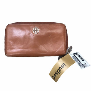 Primary Photo - BRAND: TORY BURCH STYLE: WALLET COLOR: BROWN SIZE: SMALL OTHER INFO: AS IS SKU: 207-207294-306