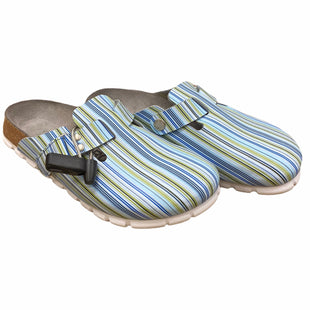 Primary Photo - BRAND:  CMA STYLE: SHOES FLATS COLOR: BLUE GREEN SIZE: 7 OTHER INFO: ALPRO BIRKENSTOCK - BY BIRKENSTOCK SKU: 207-207275-5502