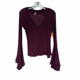 Primary Photo - BRAND: FREE PEOPLE STYLE: TOP LONG SLEEVE COLOR: VIOLET SIZE: S SKU: 207-207264-11854